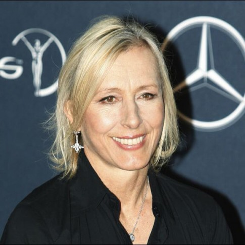 Former-tennis-player-Martina-Navratilova